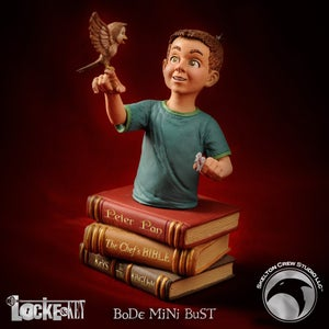 Image of Locke & Key: SIGNED Bode Locke statue - BACKROOM FIND!