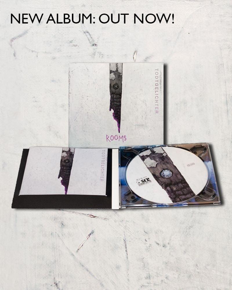 """Image of """"Rooms"""" CD (Digipack)"""