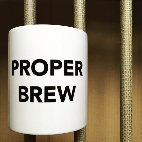 Image of PROPER BREW mug