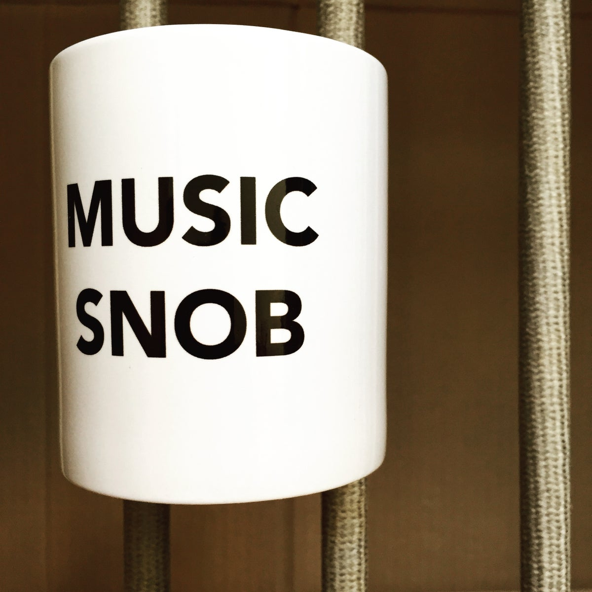 Image of MUSIC SNOB Mug