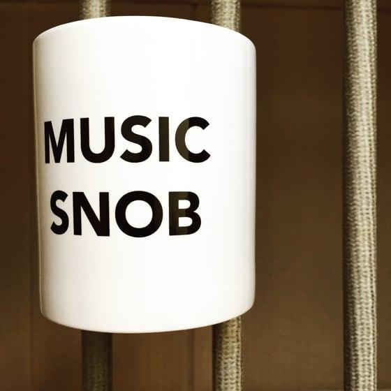 Image of MUSIC SNOB Mug