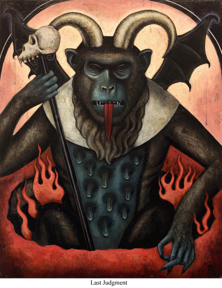 Image of Canvas Giclee- The Last Judgement