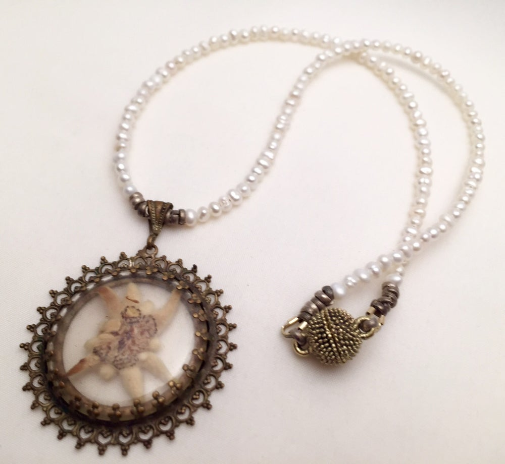 Image of Edelweiß Perlenkette