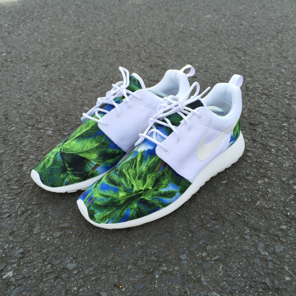 "Image of Custom Nike Roshe One ""Palm Breeze"""