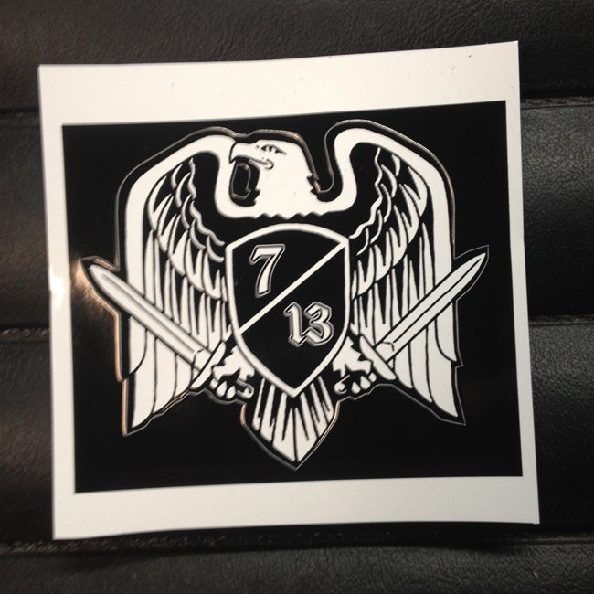 Image of Seven 13 Productions Deutschland Battle Eagle Vinyl Sticker
