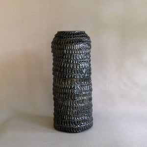 Image of Frill Vase Charcoal Tall