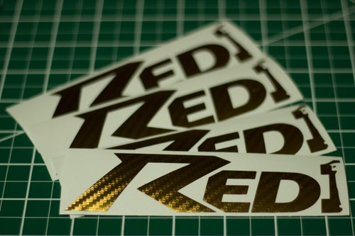 Image of Red One Decals