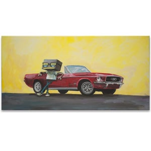 67' Stang - Matt Q. Spangler Illustration