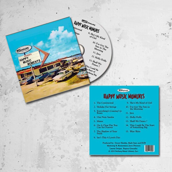 Image of Seeburg Music Library Happy Music Moments CD