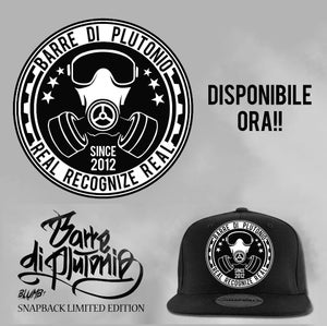 Image of SNAPBACK BARRE DI PLUTONIO