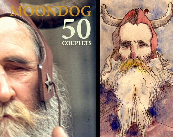 Image of Réédition : 50 couplets de Moondog