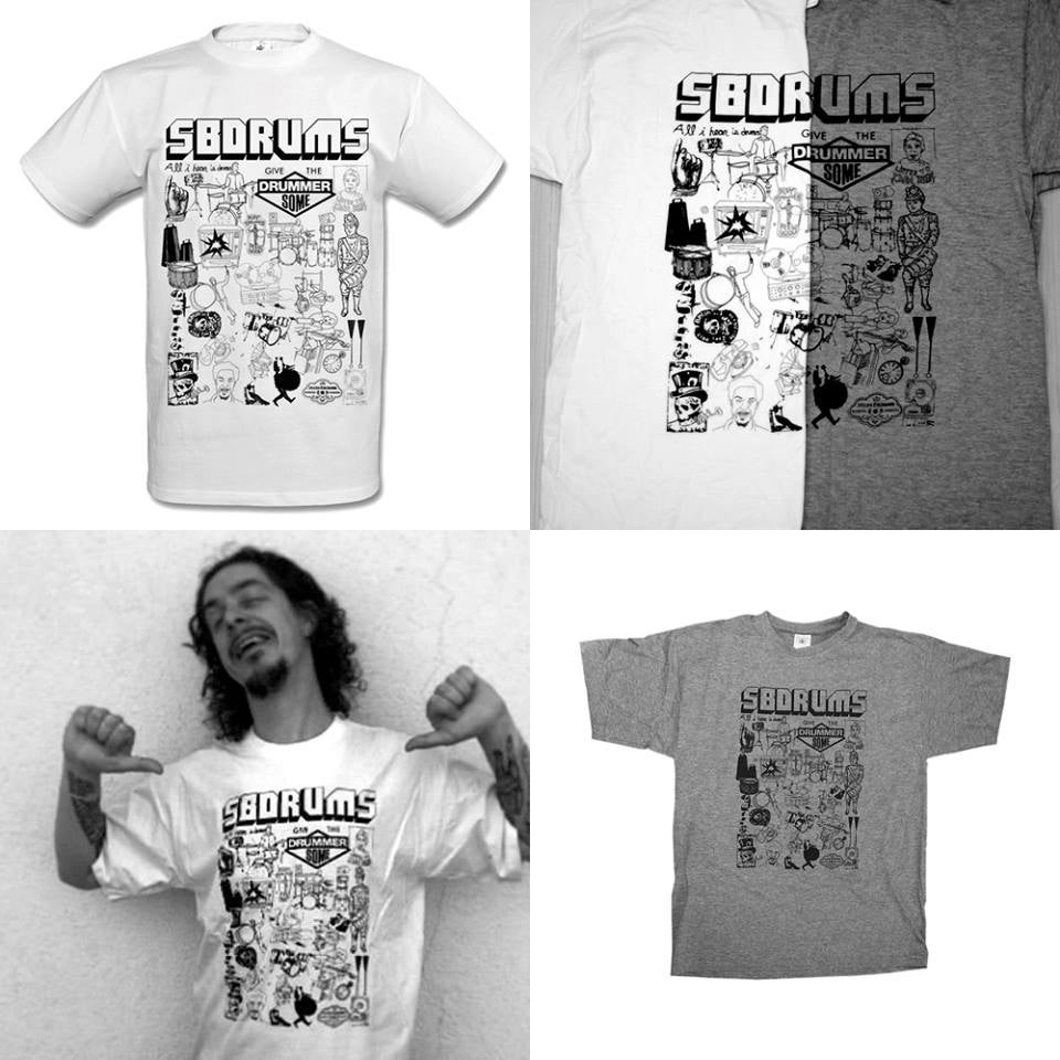 Image of SB-Drums Illustration T-Shirt