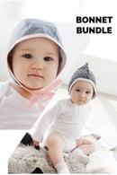 Image 1 of Baby Bonnet Bundle- Classic + Pixie
