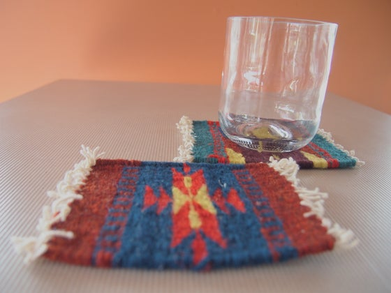 Image of Tiny rugs coasters