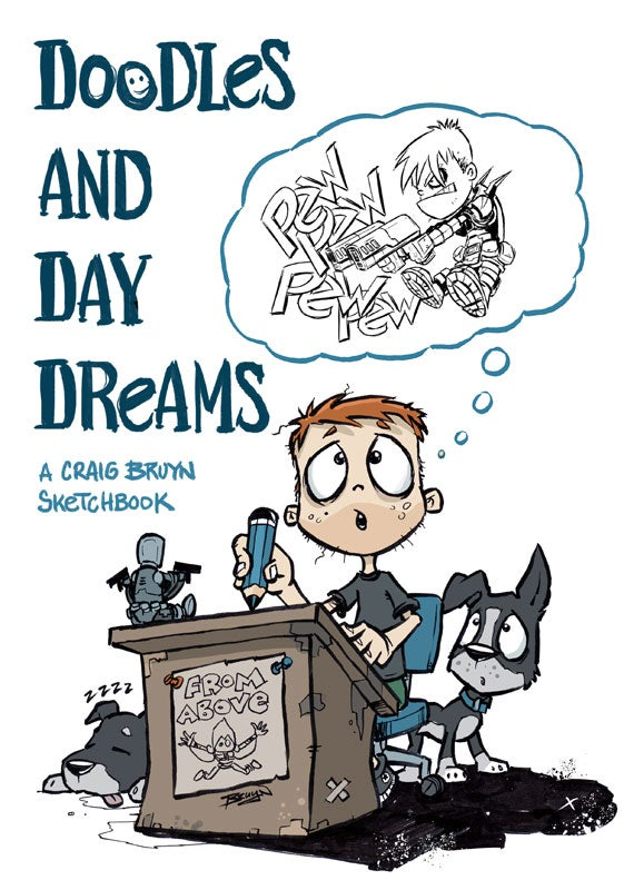 Image of Doodles and Daydreams sketchbook