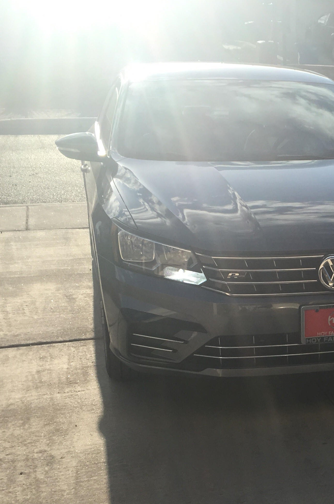 Image of Front Turn / DRL combo in white or amber for Volkswagen Passat B7 2016+ models with PWY24W bulbs