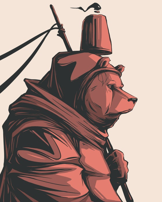 Image of Red Bear