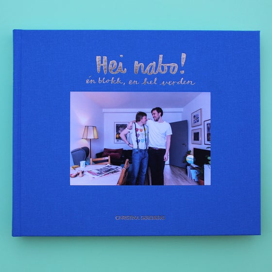 Image of Hei nabo! havblått cover