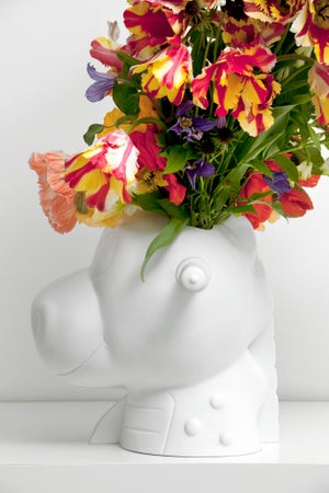 Image of Jeff Koons - Split Rocker vase