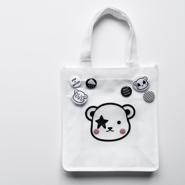 Image of Birdie + Bowie mini tote bag