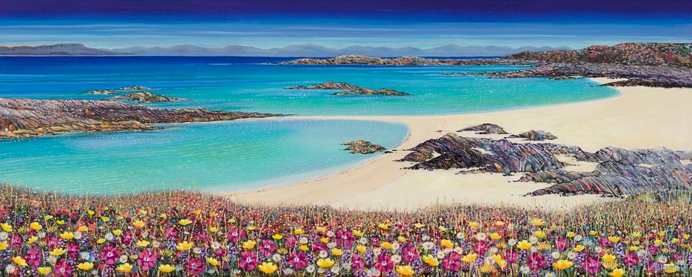 Image of STRUAN BEACH, COLL GICLEE PRINT