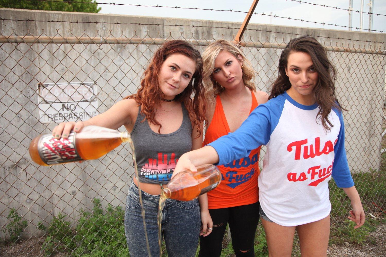 Image of Tulsa As Fuck Baseball T's