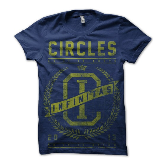 Image of Infinitas Tee (Navy/Yellow)
