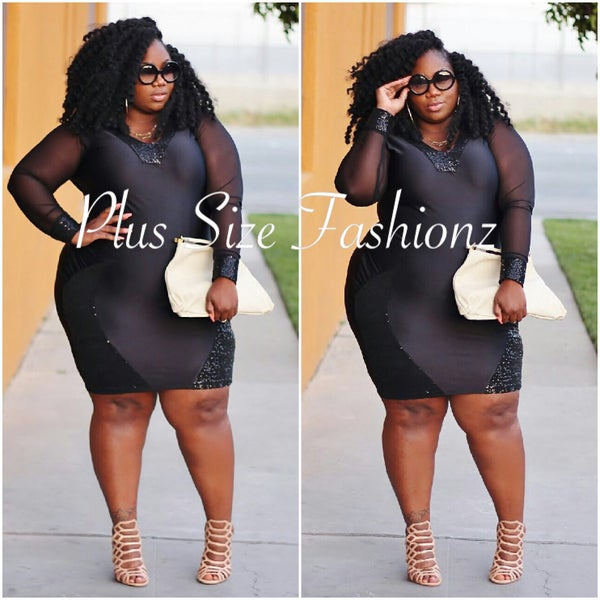 Black Glam - Plus Size Fashionz