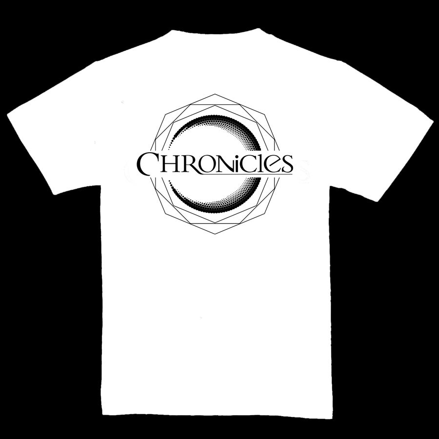 Image of CHRONCILES T-SHIRT MEN OR GIRLY - WHITE