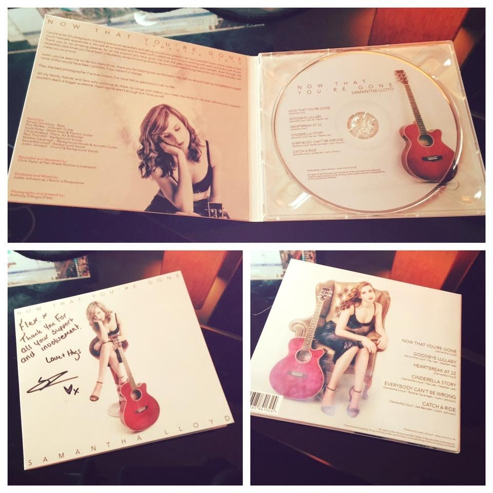 """Image of Samantha Lloyd EP """"Now That You're Gone"""""""