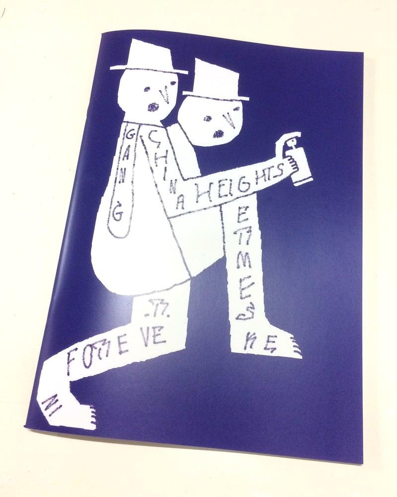 Image of 'Germes Gang Forever' A4 publication by Germes Gang.