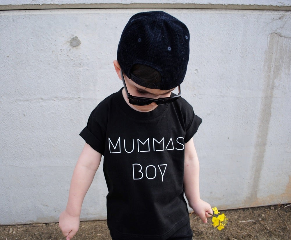 Image of Mummas Boy Tee