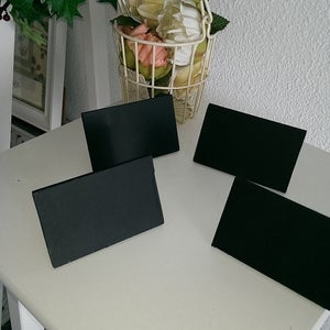 9 by 6 Slanting Table Top Chalkboard ( 4 per pkts)