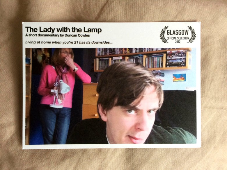 Image of 'The Lady with the Lamp' Postcard (signed)