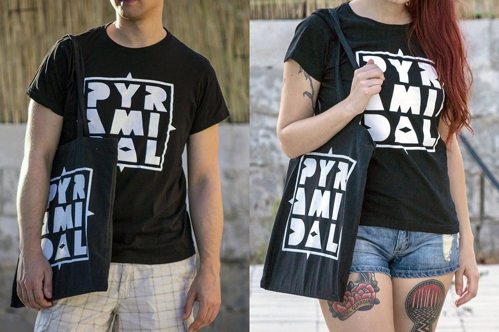 Image of Pyramidal Logo T-Shirts & Tote Bags