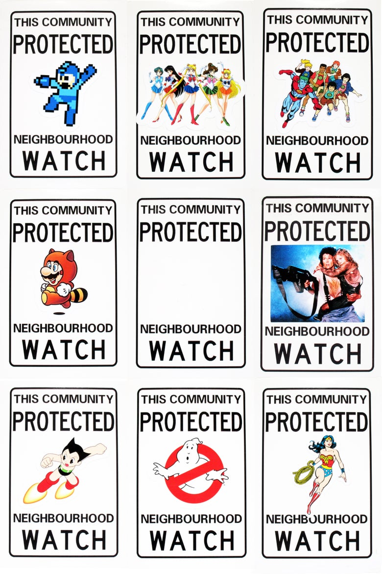 Image of Neighbourhood Watch Stickers