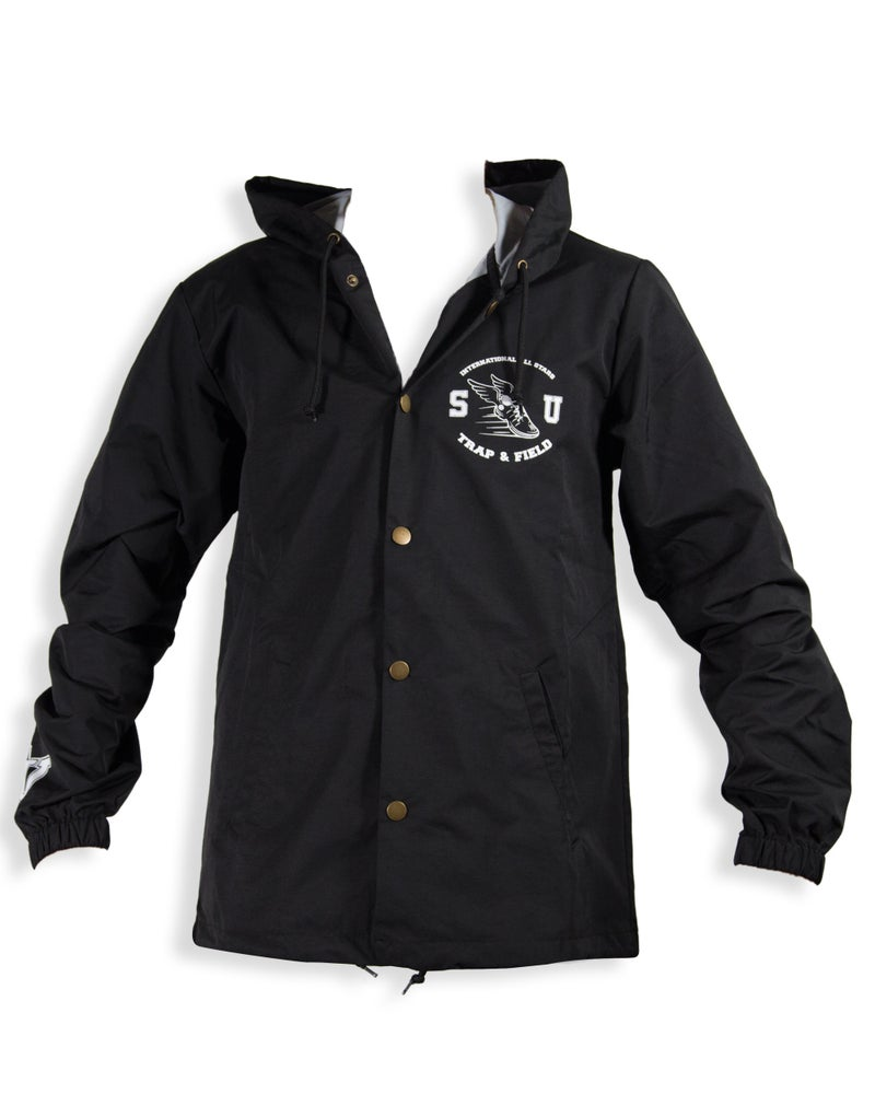 """Image of SMUGGLERS UNION """"TRAP & FIELD"""" (Coaches Jacket w/Hood)"""