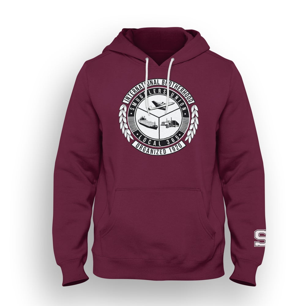"""Image of SMUGGLERS UNION """"UNION SEAL"""" (Pullover Sweatshirt) *3 Color Options"""