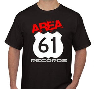 Image of Area 61 Records Tee