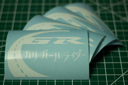 Image of Cali Girl Rider Decals