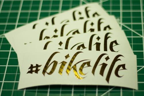 Image of #bikelife Decals