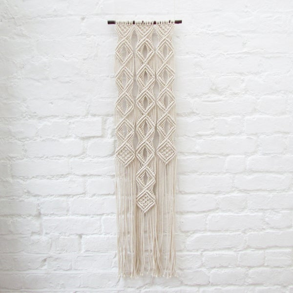Image of Medium Macrame Wall Hanging
