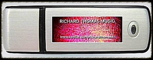 Image of Richard Thomas Music Signature USB Flash Drive