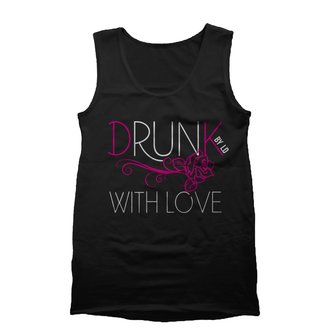 "Image of ""Drunk With Love"" Tank Top"