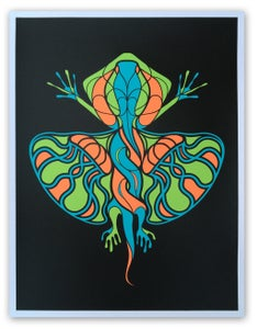 Image of Flying Lizard Print