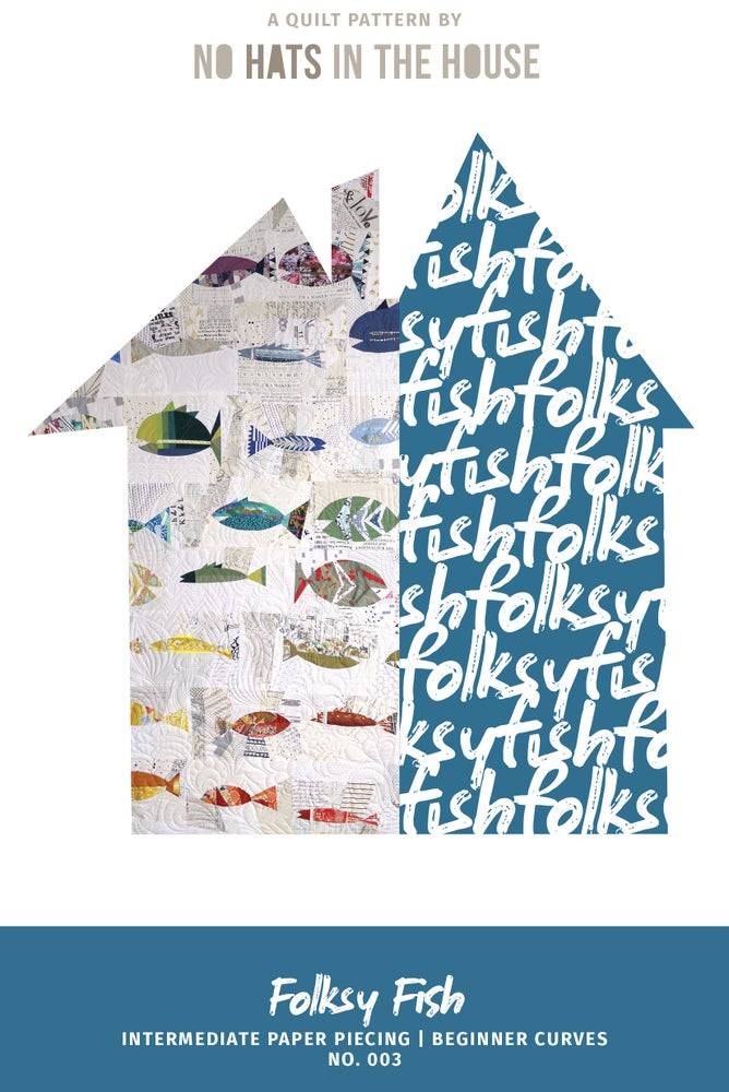 Image of Folksy Fish - no. 3 - PRINT