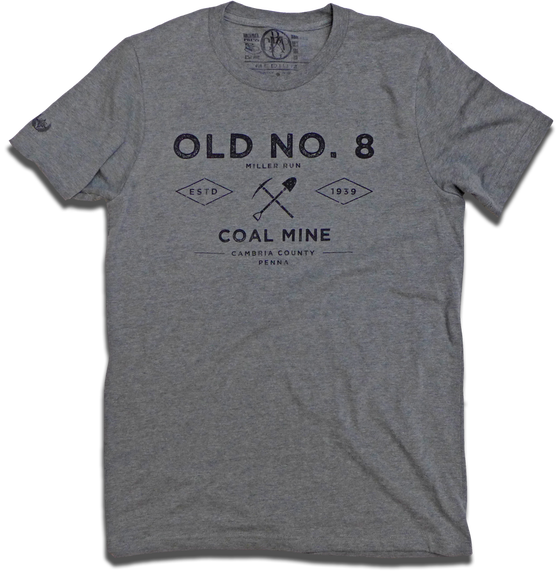 "Image of ""Old No. 8 Coal Mine"" tee"