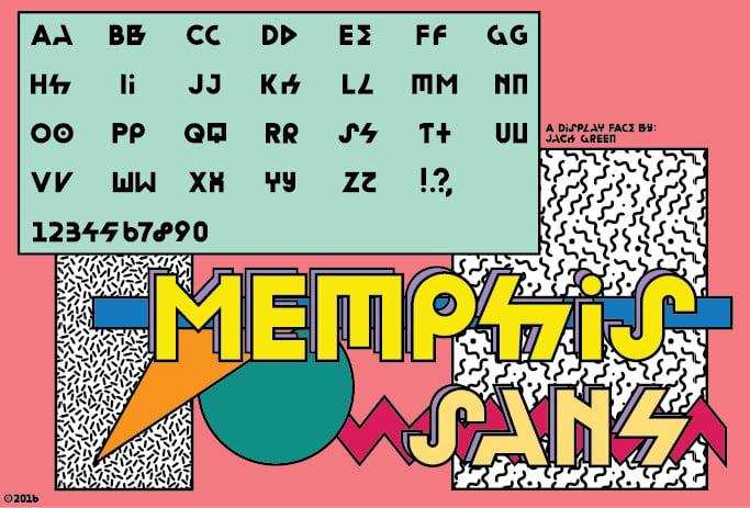 Image of Memphis Sans