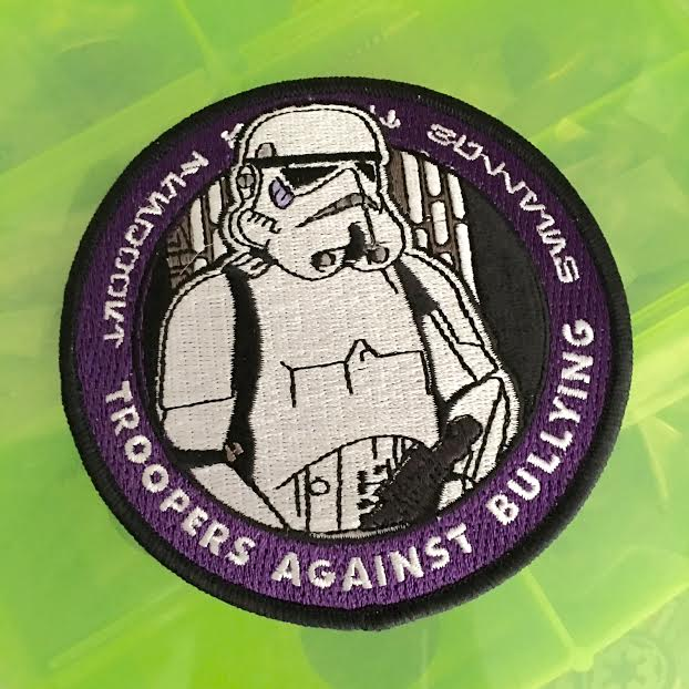 "Image of Troopers Against Bullying 4"" Patch"