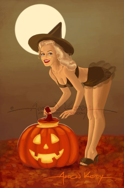 Image of Norma Jeane Halloween